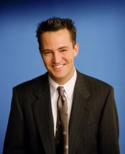 FRIENDS -- NBC Series -- Pictured: Matthew Perry as Chandler Bing -- Photo Provided By: Warner Bros.